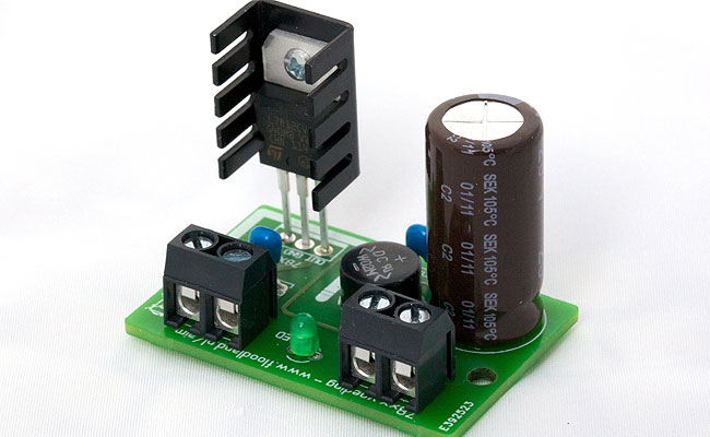 Low Noise 9v Volt Regulator Using Ic 7809 Any Advice