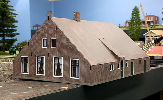 Avontuur in miniatuur - Huis exterieur model ...